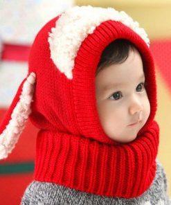 Cute Toddler Beanie Red