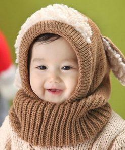 Cute Toddler Beanie Khaki